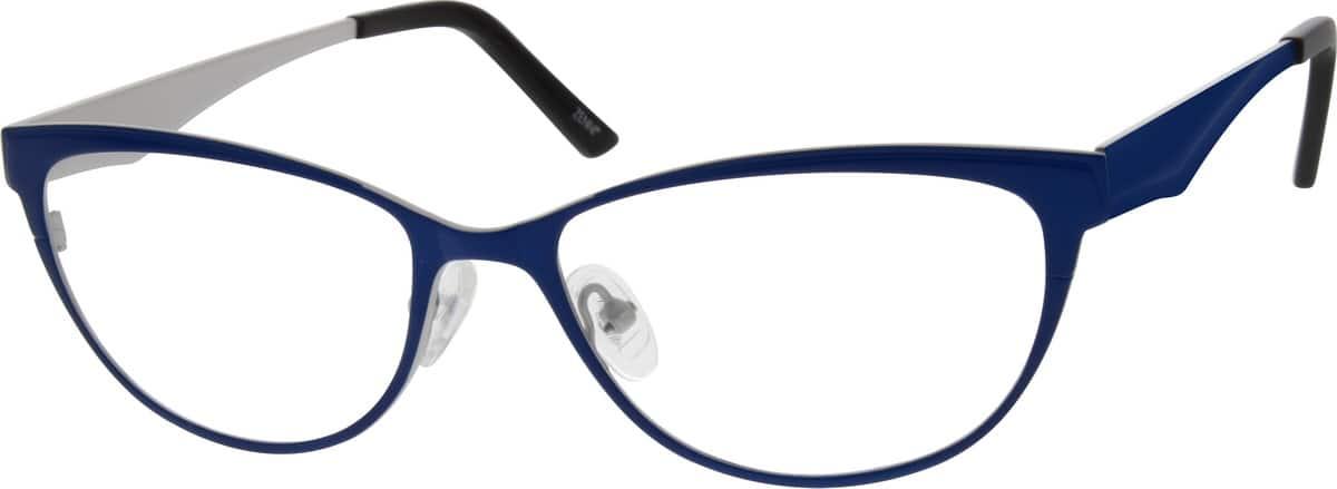 WomenFull RimStainless SteelEyeglasses #696816