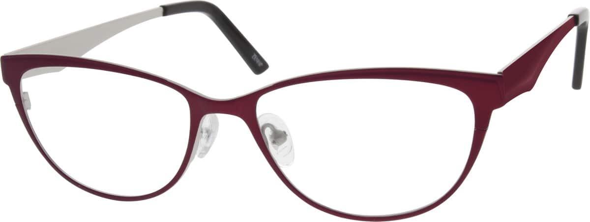 WomenFull RimStainless SteelEyeglasses #696818