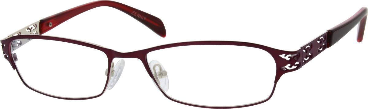 Women Full Rim Stainless Steel Eyeglasses #697017
