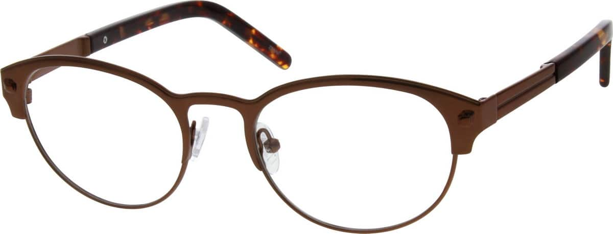 Women Full Rim Stainless Steel Eyeglasses #697712