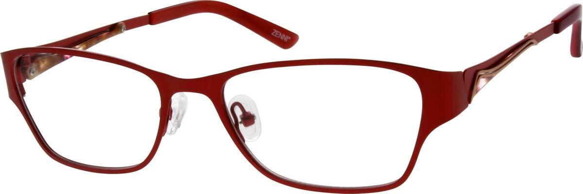 WomenFull RimStainless SteelEyeglasses #698017