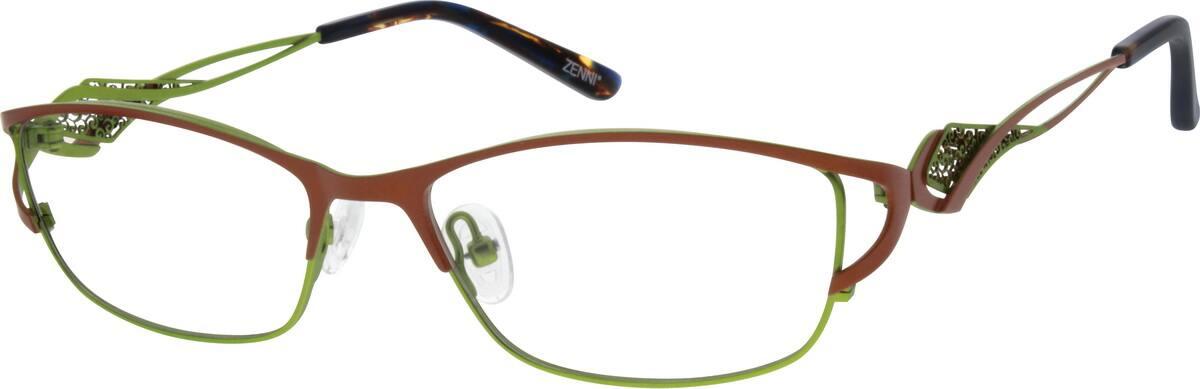 WomenFull RimStainless SteelEyeglasses #698228