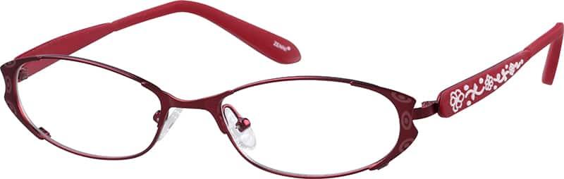 WomenFull RimStainless SteelEyeglasses #698918