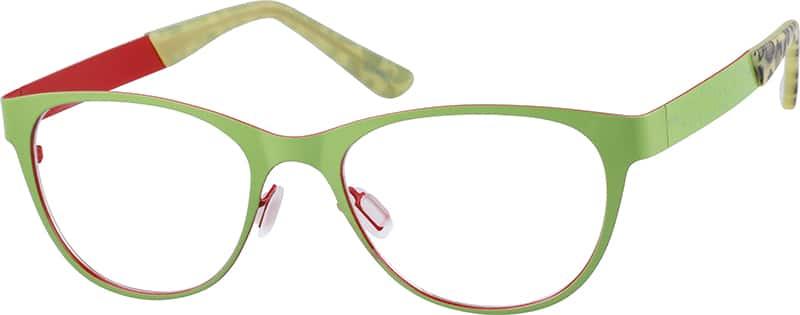 WomenFull RimStainless SteelEyeglasses #699424