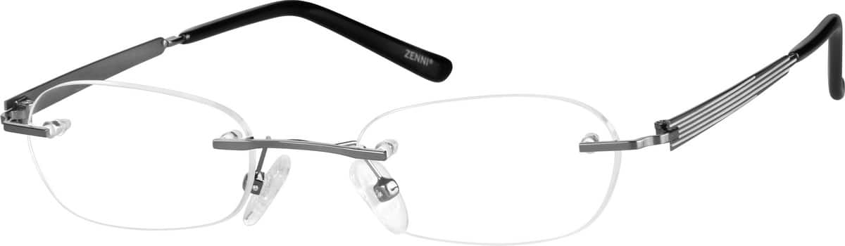 Women Rimless Stainless Steel Eyeglasses #699612
