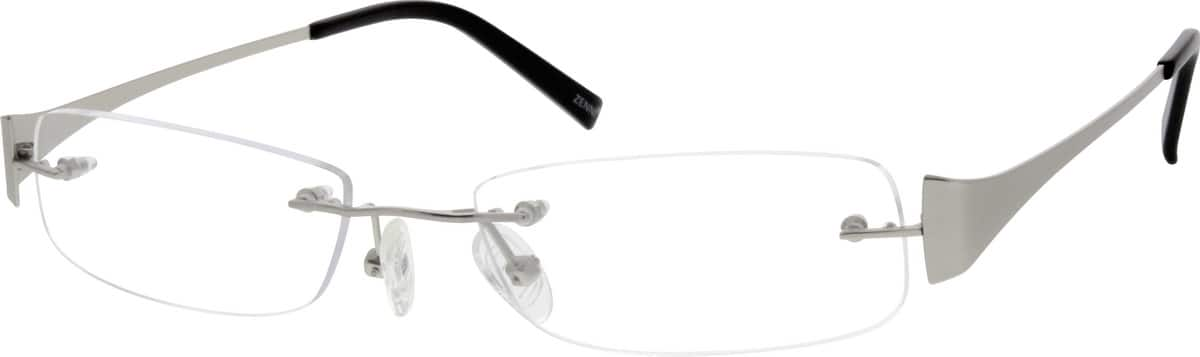 Men Rimless Stainless Steel Eyeglasses #699712