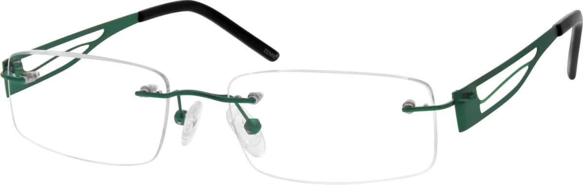 UnisexRimlessStainless SteelEyeglasses #699824
