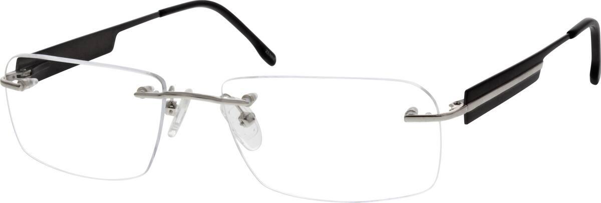 MenRimlessStainless SteelEyeglasses #699911