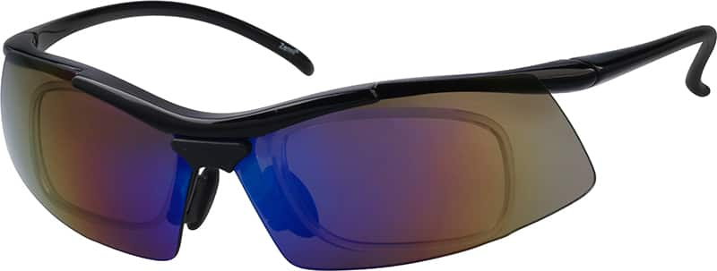 Black Sport Sunglasses