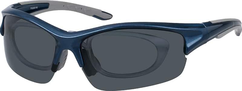 UnisexHalf RimAcetate/PlasticEyeglasses #705516