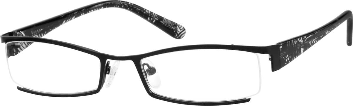 713621-stainless-steel-partial-rim-frame-with-acetate-temples-same-appearance-as-frame-8136