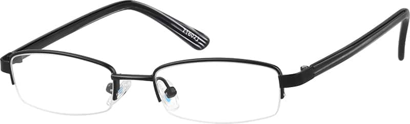 716021-stainless-steel-half-rim-frame-with-acetate-temples