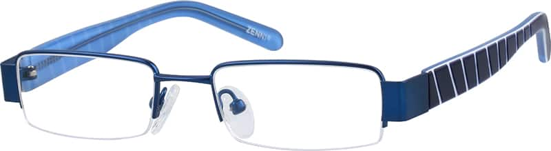 BoyHalf RimMixed MaterialsEyeglasses #717921
