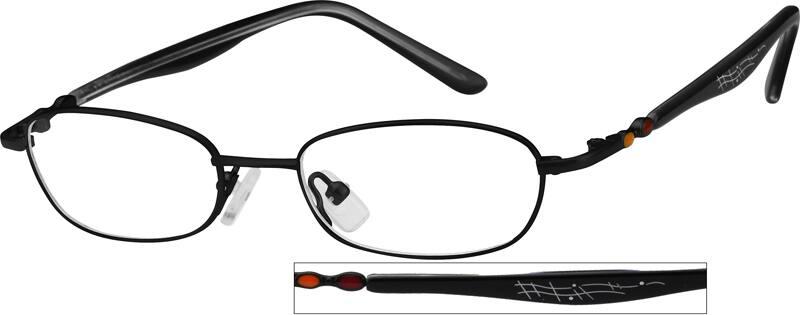 BoyFull RimMixed MaterialsEyeglasses #718121