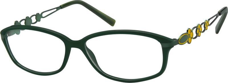 Pink Full Rim Plastic Frames #7238 Zenni Optical Eyeglasses