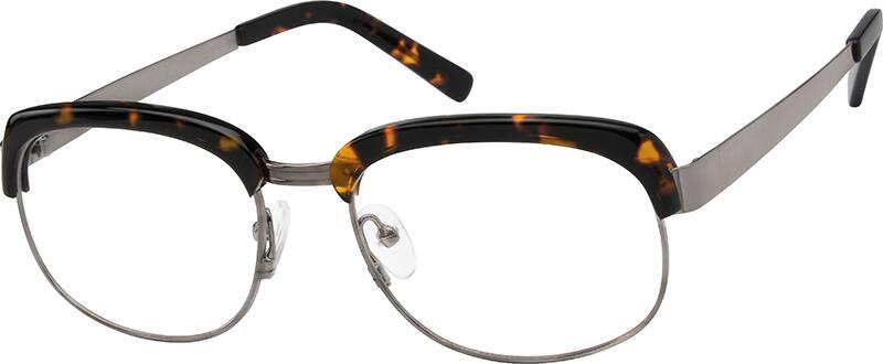 UnisexFull RimMixed MaterialsEyeglasses #724525