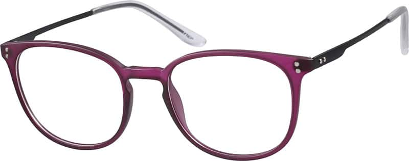 Purple Women s Lightweight Round Eyeglasses #7270 Zenni ...