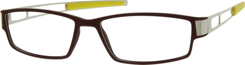 UnisexFull RimMixed MaterialsEyeglasses #727115