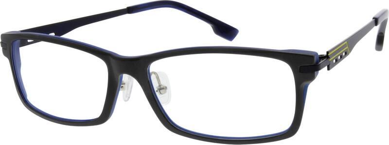 MenFull RimMixed MaterialsEyeglasses #728312