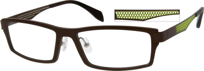 MenFull RimMixed MaterialsEyeglasses #728415