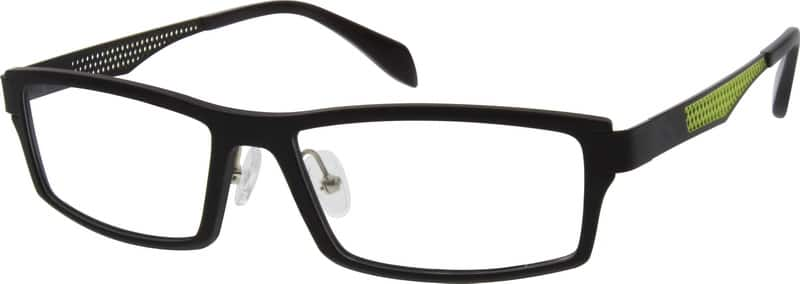 728421-flexible-plastic-full-rim-frame-with-design-on-temples
