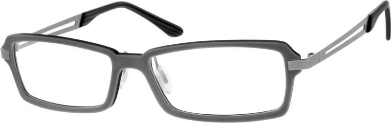 MenFull RimMixed MaterialsEyeglasses #729112