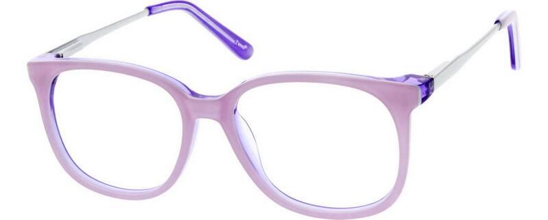 GirlFull RimMixed MaterialsEyeglasses #729516