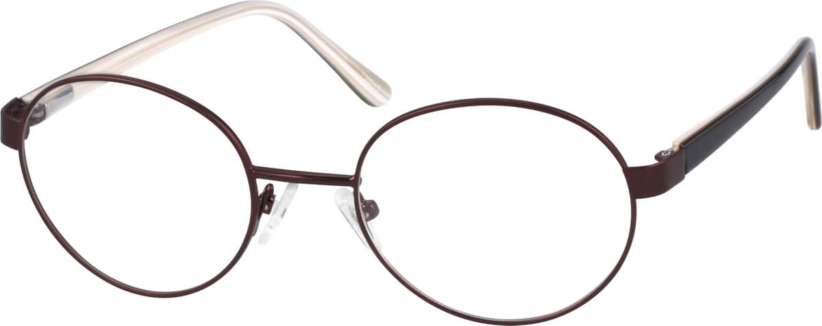 Metal Alloy Full Rim Frame with Spring Hinges.