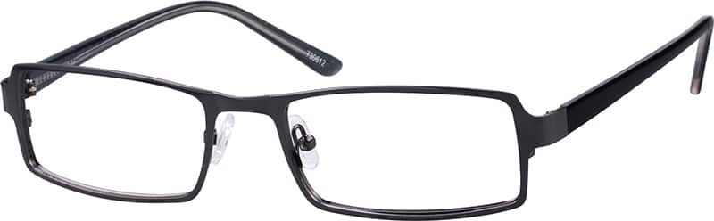 Men Full Rim Mixed Materials Eyeglasses #730621