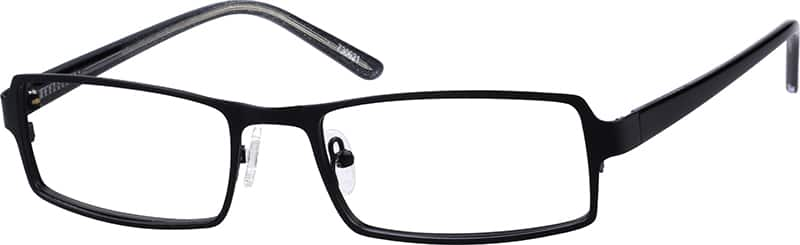 Men's Stainless Steel Rimmed Eyeglasses