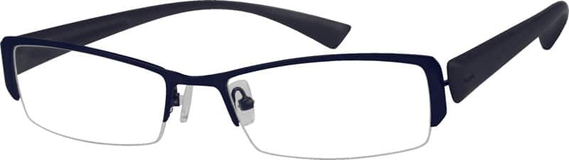 MenHalf RimMixed MaterialsEyeglasses #731021
