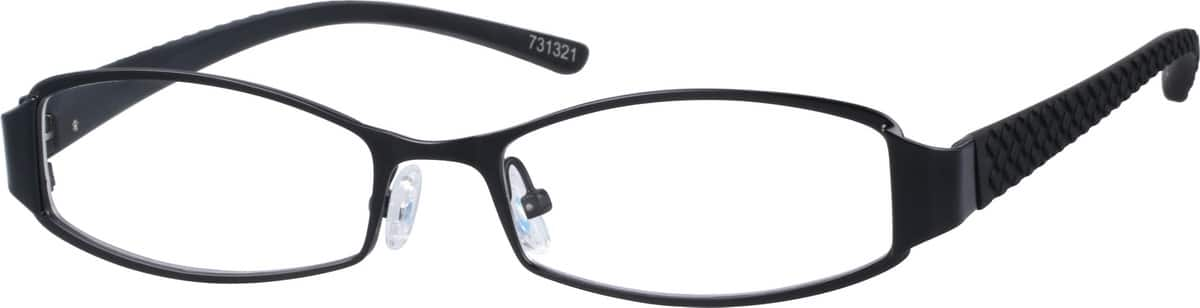 Men Full Rim Mixed Materials Eyeglasses #731321