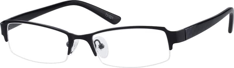 MenHalf RimMixed MaterialsEyeglasses #731521
