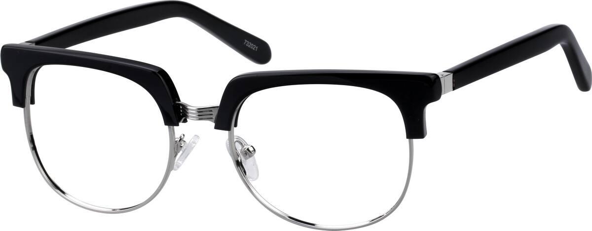 MenFull RimMixed MaterialsEyeglasses #732021
