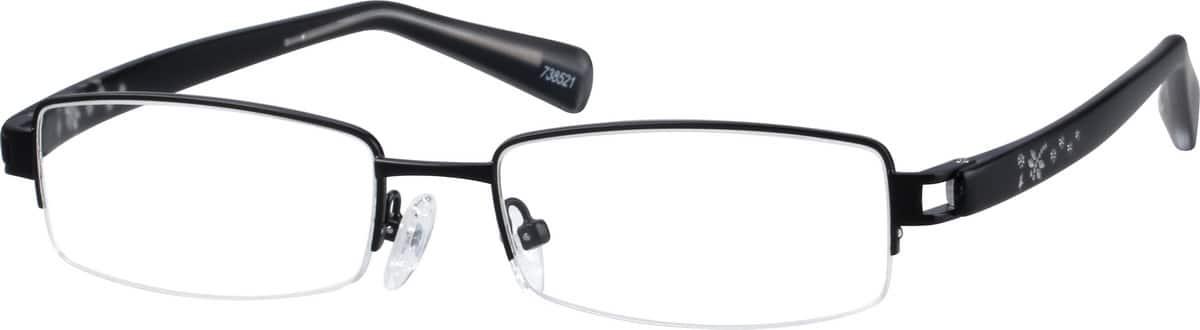 UnisexHalf RimMixed MaterialsEyeglasses #738521