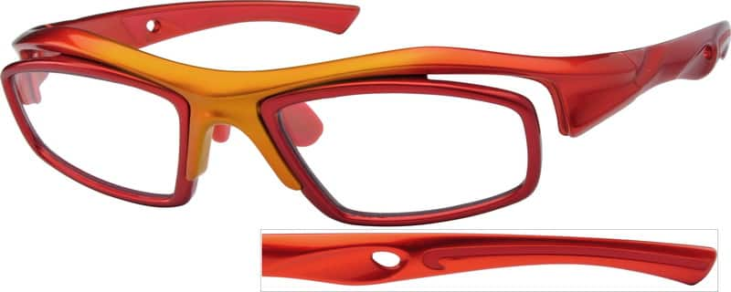 UnisexFull RimAcetate/PlasticEyeglasses #741218