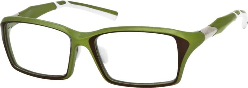 Men Full Rim Acetate/Plastic Eyeglasses #741724