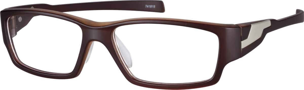 MenFull RimAcetate/PlasticEyeglasses #741821