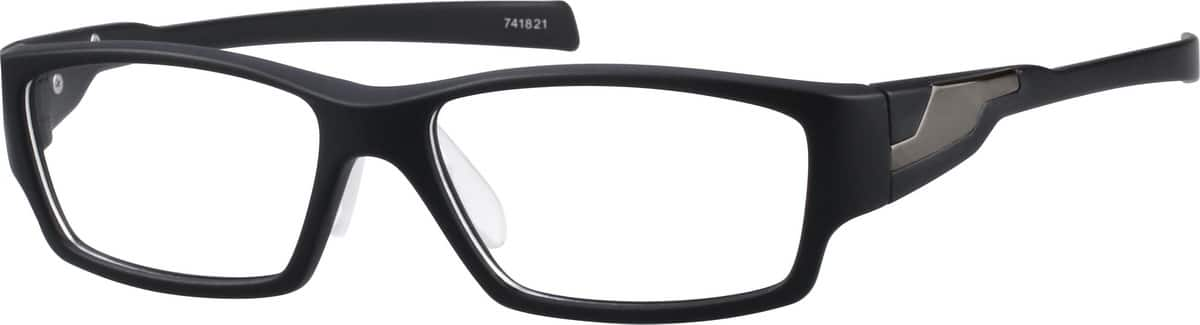 Black Sport Glasses #7418 Zenni Optical Eyeglasses