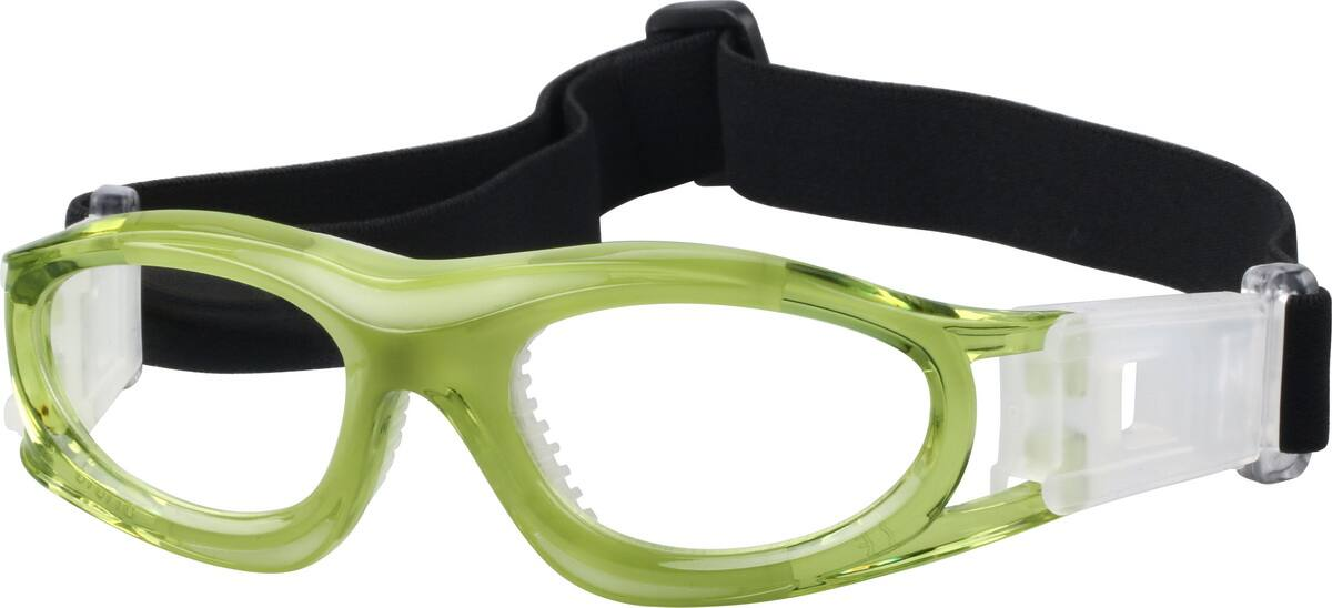 Zenni Optical Safety Glasses : Green Kids Sport Goggles #7421 Zenni Optical Eyeglasses