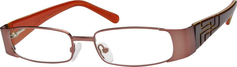 Women Full Rim Mixed Materials Eyeglasses #752211
