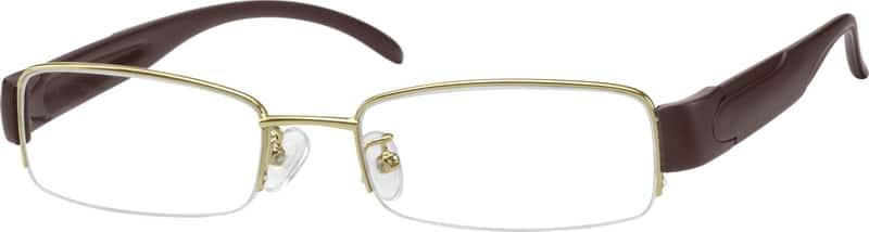 MenHalf RimMixed MaterialsEyeglasses #754414