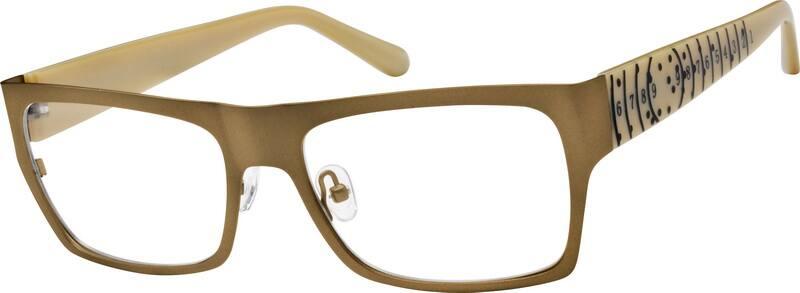 MenFull RimMixed MaterialsEyeglasses #755415