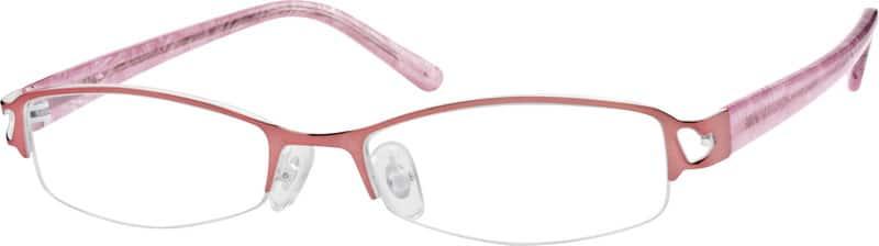 WomenHalf RimMixed MaterialsEyeglasses #762519