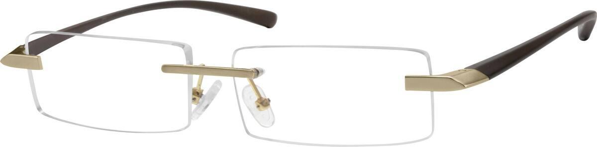 MenRimlessMixed MaterialsEyeglasses #763215
