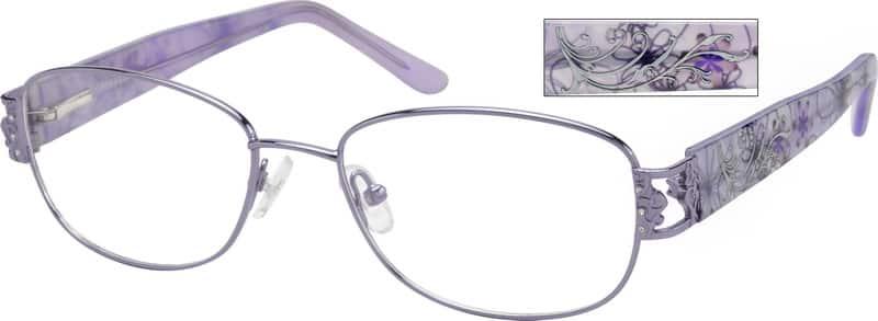 WomenFull RimMixed MaterialsEyeglasses #763815