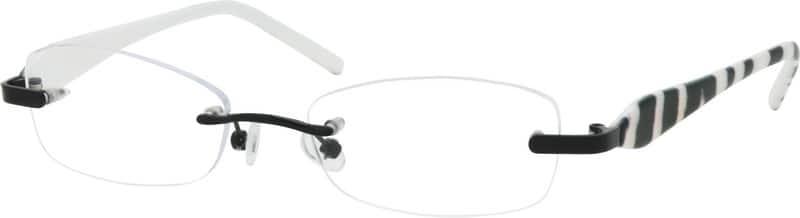 UnisexRimlessMixed MaterialsEyeglasses #764234
