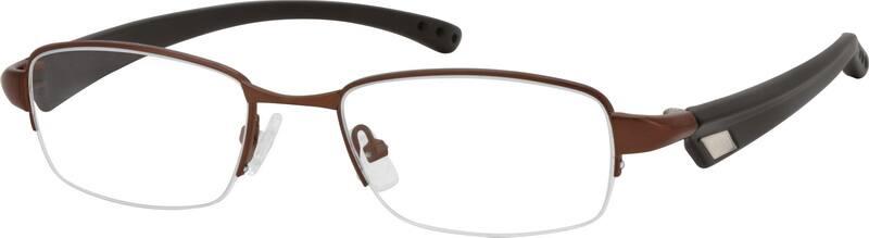 MenHalf RimMixed MaterialsEyeglasses #764315