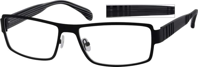MenFull RimMixed MaterialsEyeglasses #765115
