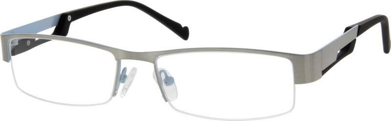 MenHalf RimMixed MaterialsEyeglasses #766821